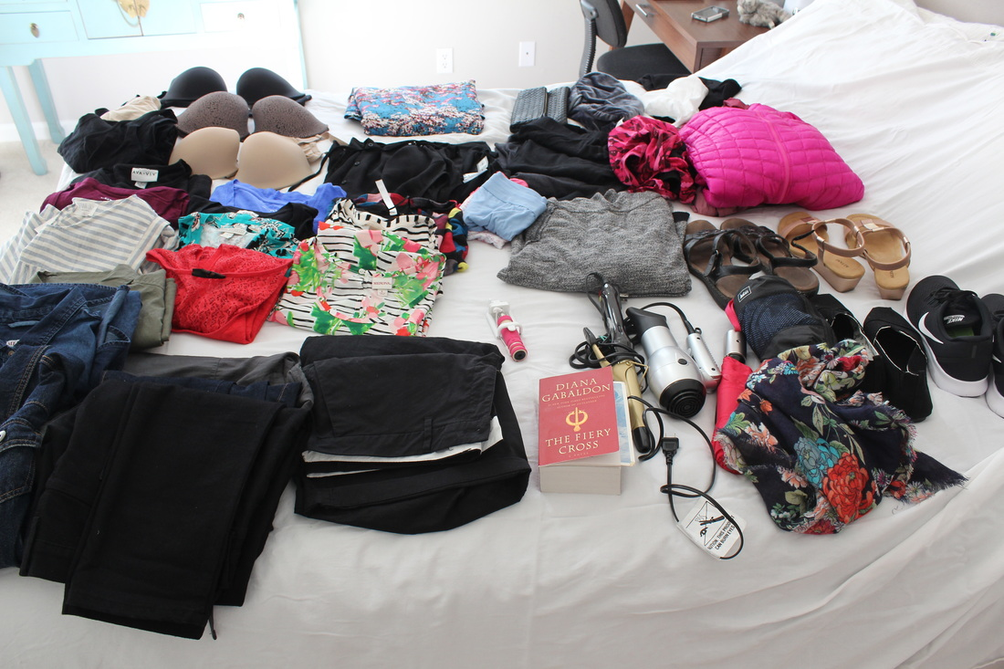 Packing for 3 Weeks in Europe